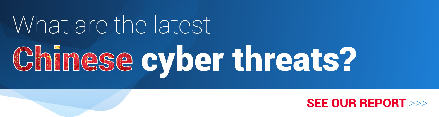 China cyber threat report
