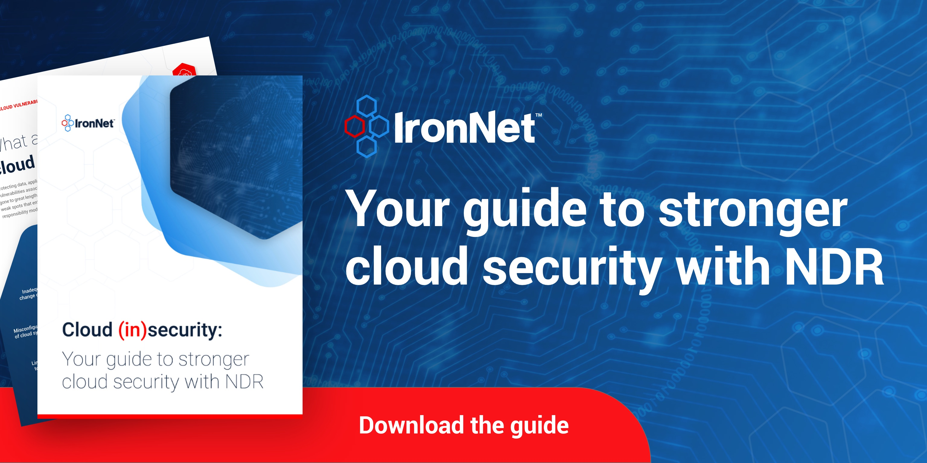 IronNet See the truth in the network traffic social card Linkedin@2x