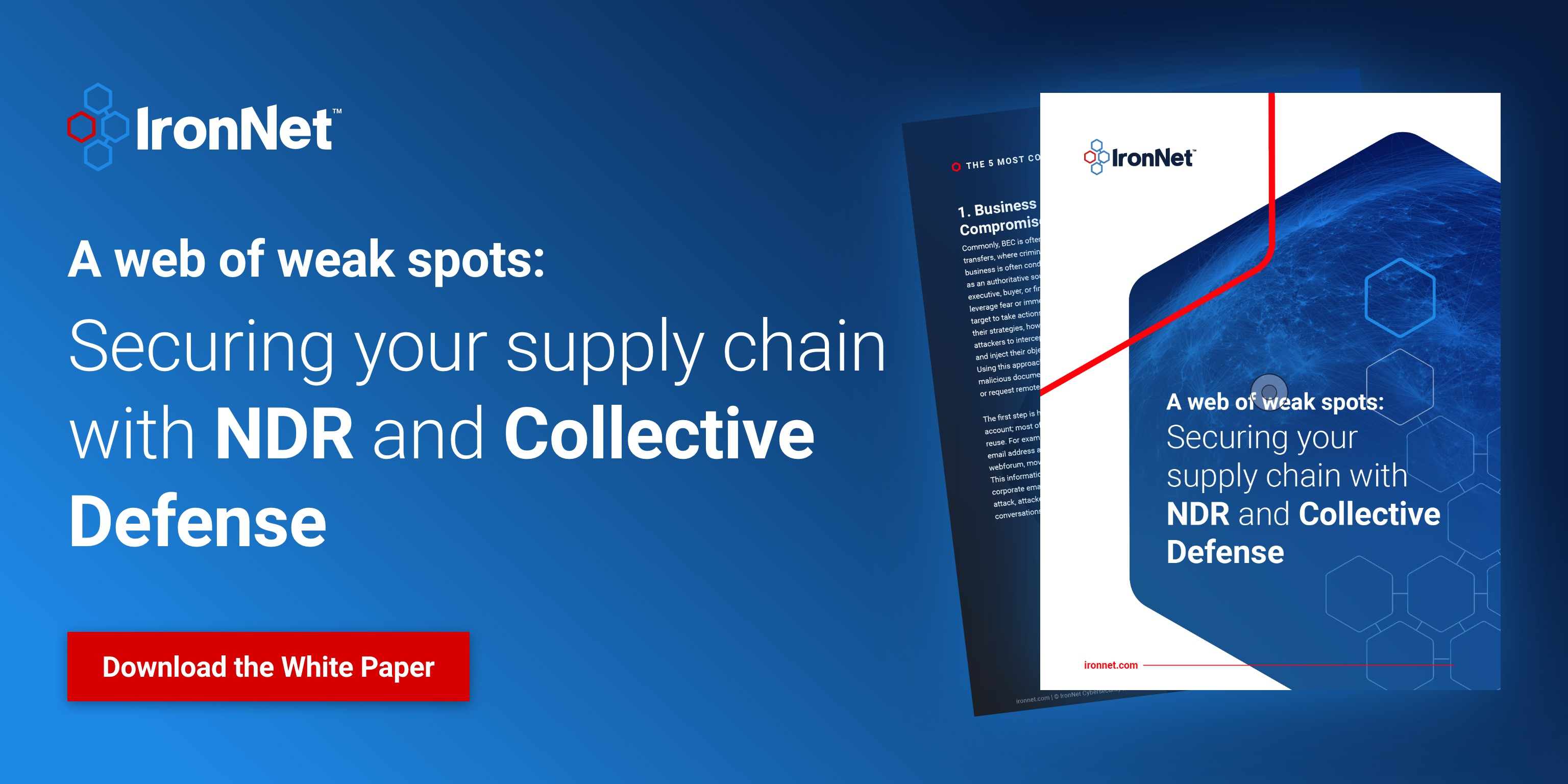IronNet -Supply Chain Social Images  - Option 1 - LinkedIn@2x