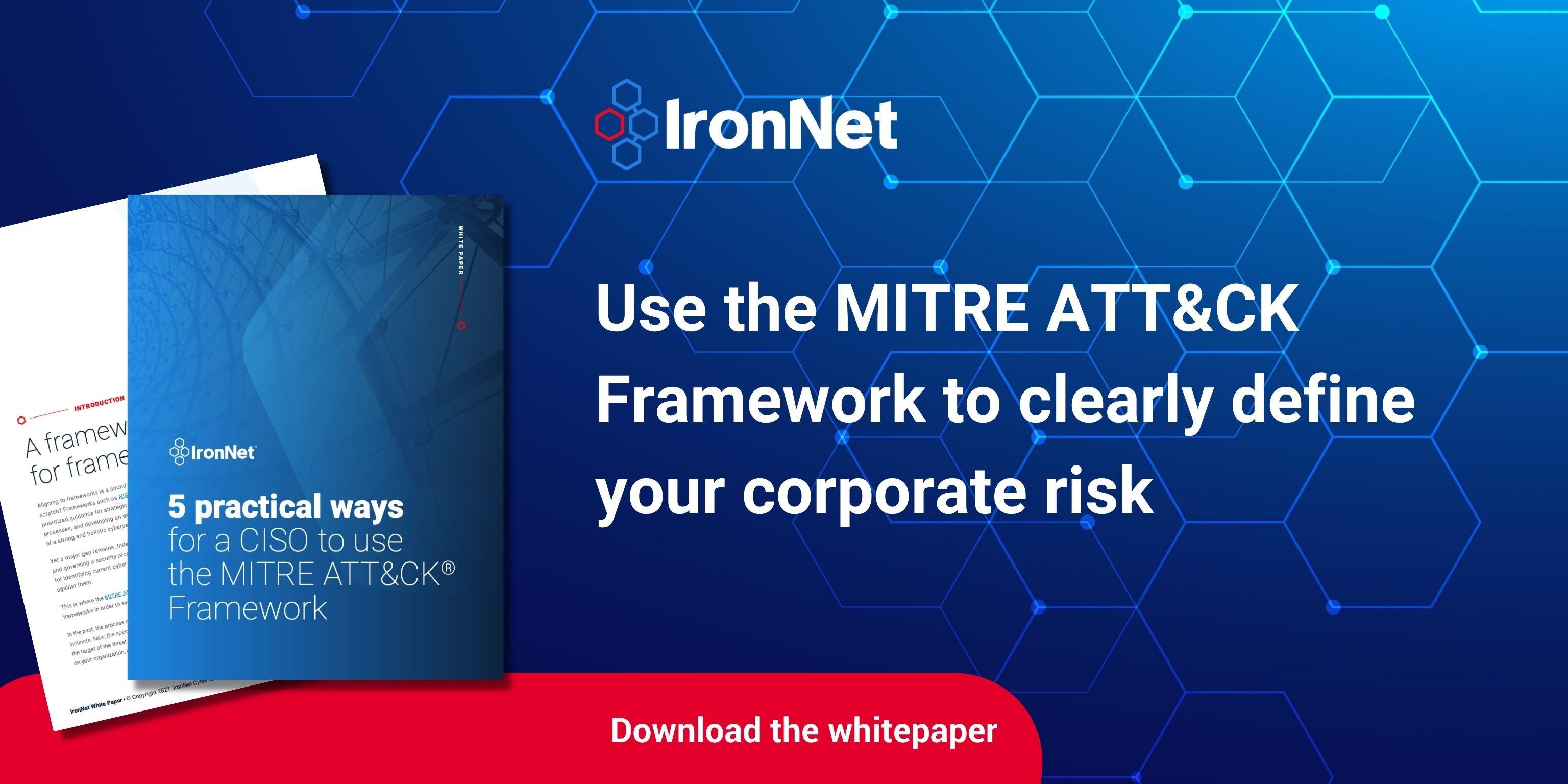 MITRE ATT&CK White paper