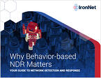 IronNet Why Behavior-based NDR Matters eBook Cover