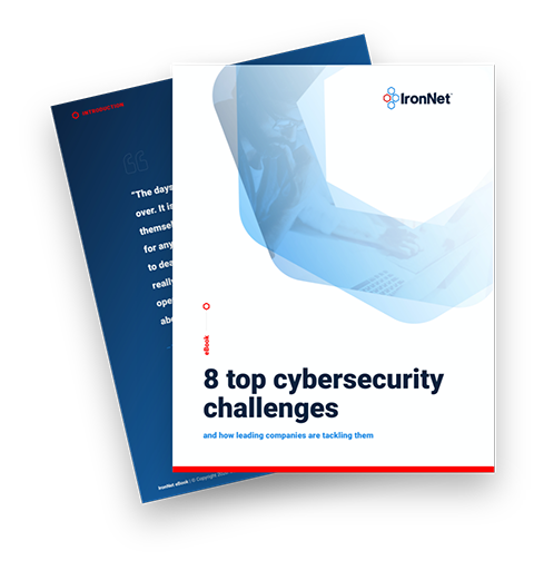IronNet-8 top cybersecurity challenges-cover images