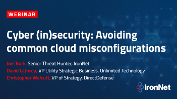IronNet-Cloud Security-Cyber insecurity