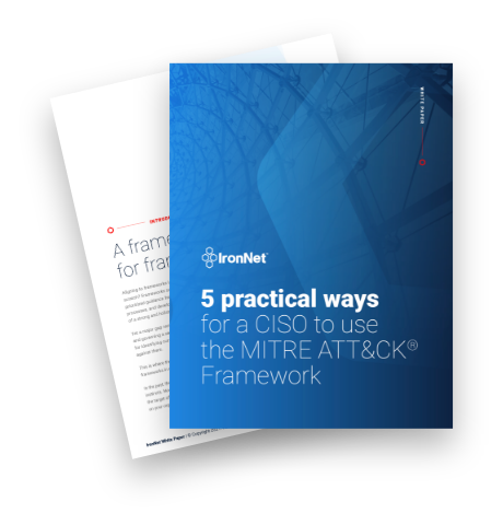 IronNet-Cybersecurity Strategy SEO-5 practical ways whitepaper thumbnail