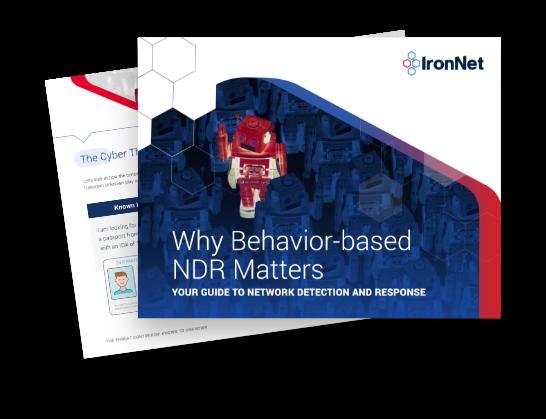 IronNet-IronDefense-Why Behavior Based NDR Matters eBook Thumbnail