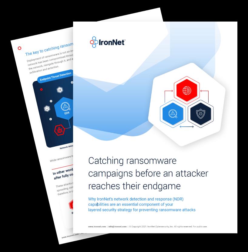 IronNet-Ransomware Attack-Catching Ransomware Thumbnail